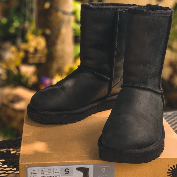 UGG Shoes | New Black Water Resistant S